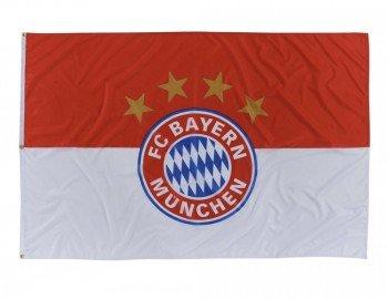 FC Bayern München Hissfahne Logo 180x120cm (Sturm Bettwäsche)