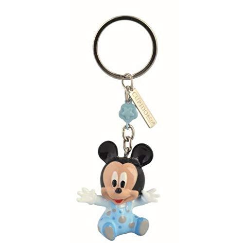 Disney baby portachiavi topolino mickey 3d in resina 9.5 bomboniera
