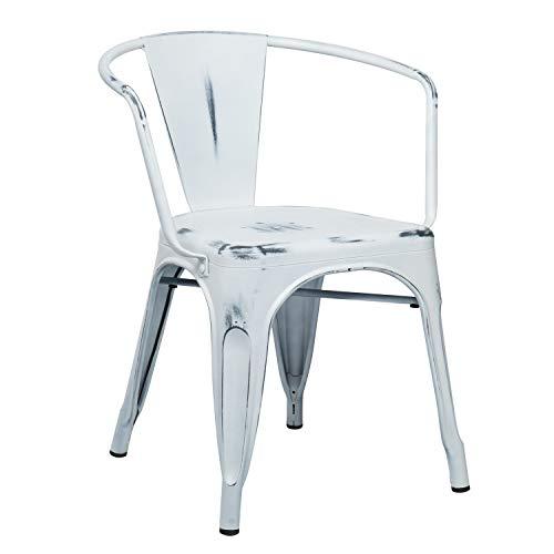 La Silla con brazos LIX Vintage es la fusión perfecta entre diseño y confort. Esta pieza se ha convertido en un producto estrella para los amantes del interiorismo, y en un icono del estilo Industrial. Está fabricada en acero, un material muy resiste...