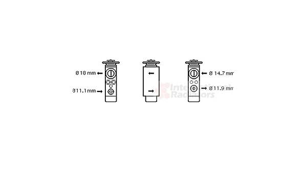 Valvola espansione Aria condizionata-Hella 8uw 351 239-321