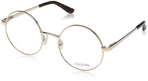 Guess Unisex-Erwachsene GU2682 032 52 Brillengestelle, Gold (Oro),