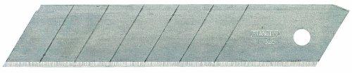 Stanley Abbrechklingen (25 mm, gerade Schneide, 0,7 mm Schneidstärke, 110 mm Klingenlänge) 20 Stück, 1-11-325 (Bessey-box Cutter)