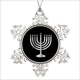 Monsety Chanukkah Judentum Menora Weihnachten Ideen Weihnachten Schneeflocke Ornament 2018 Lustig Weihnachtsbaum Zweig Deko Andenken
