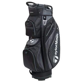 TaylorMade Golf 2018 Pro Cart 6.0 Cart Bag Mens Trolley Bag 14 Way Divider Black/Charcoal