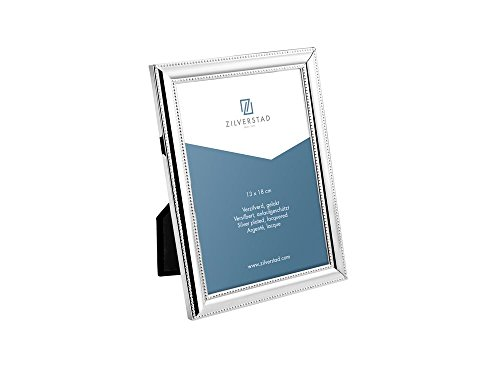 Zilverstad 6150201 - Cornice per foto Perla, lucida, argento, argento;metallo