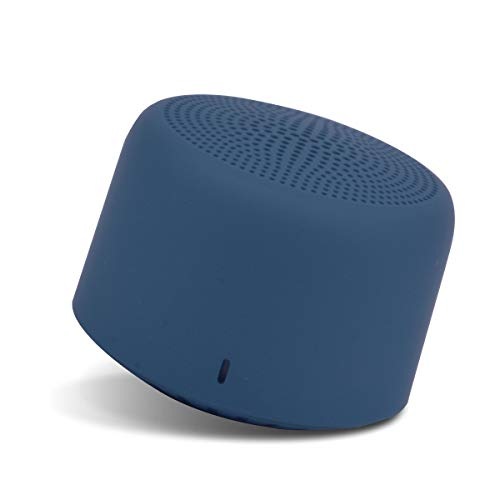 Portronics PICO Bluetooth 5.0 Personal Mini Portable Stereo Speaker with TWS, Crisp, Loud and Clear 3W, Blue