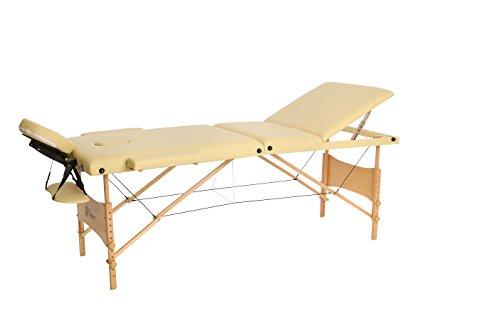 Lettino Per Massaggi Portatile Professionale In Legno 3 Zone Borsa