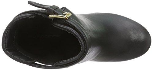 Fornarina PIFTB8996WCA - Scarpe con zeppa donna Nero