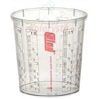 10x COLAD Mischbecher mit Maßstab 2300 ml LACK FÜLLER - Becher ohne Deckel
