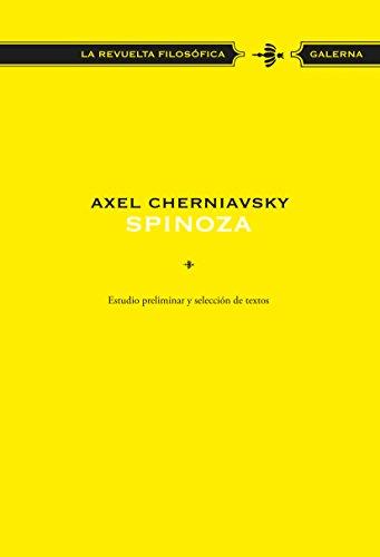 Spinoza por Axel Cherniavsky