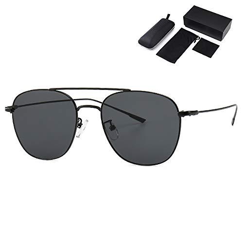 Modern Fashion Aviator Polarisierte Sonnenbrille Streetfashion-Trend-Luxus-Sonnenbrille Unisex UV400 Das ganze Jahr über als modisches Accessoire und zum täglichen Tragen geeignet