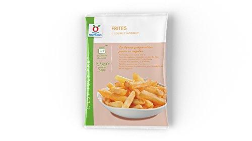 TOUPARGEL - Frites coupe classique - 2,5 kg - Surgelé