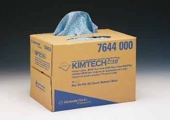KIMTECH 7644Prozess Scheibenwischer, Prahlen,, 160Blatt pro Box, blau