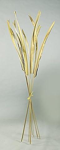 Buri-Palmblatt H: 160cm natur 10 St. im Bund, Naturmaterial Bund-Ø unten: ca. 3-7mm (Buri Natur)
