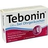 Tebonin 120 mg bei Ohrgeräuschen Filmtabletten 30 stk