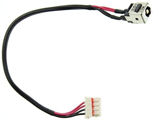 Power Jack DC Buchse Stecker für Fujitsu LifeBook AH530AH531mit Kabel E105 (Fujitsu Ah531)