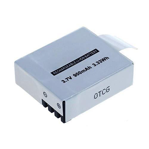 subtel® Batteria Compatibile con VicTsing VTIN 4K Action Camera Full HD 1080p (v0122-f) WiMiUS 4k Action Camera (SB-110) Q2 Q3 Q4 Mbylxk Action Cam 1080p W9S, 900mAh accu Ricambio Sostituzione