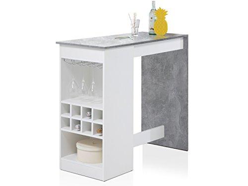 möbelando Bartisch Esszimmertisch Tresentisch Küchentisch Esstisch Tisch Caja I