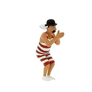 Figura de colección Tintín Hernández en bañador 6cm Moulinsart 42484 (2011) 12