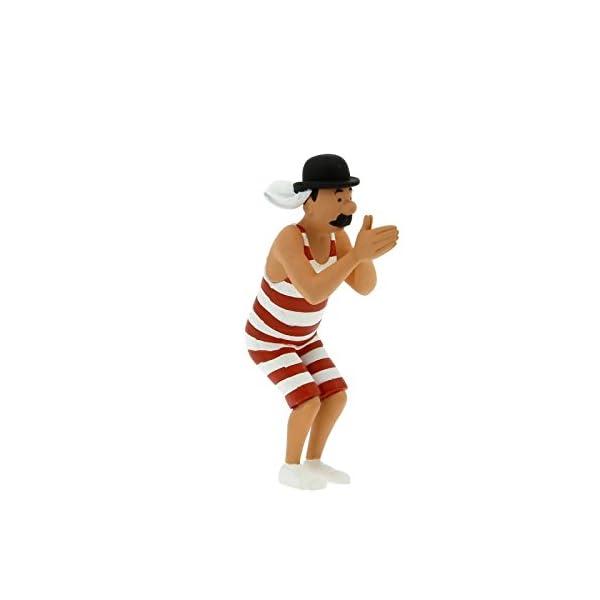 Figura de colección Tintín Hernández en bañador 6cm Moulinsart 42484 (2011) 1