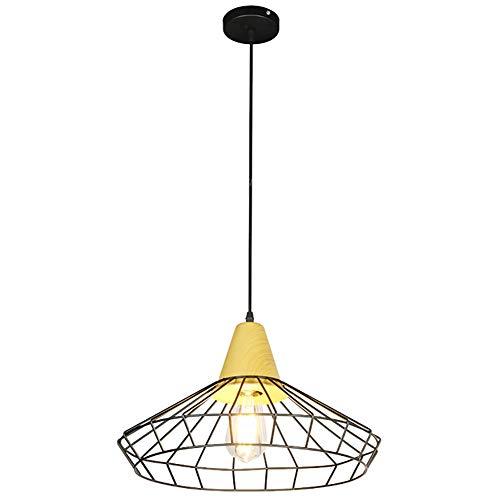 Lámpara Colgante De Jaula De Pájaros Industrial Vintage, Lámpara ...