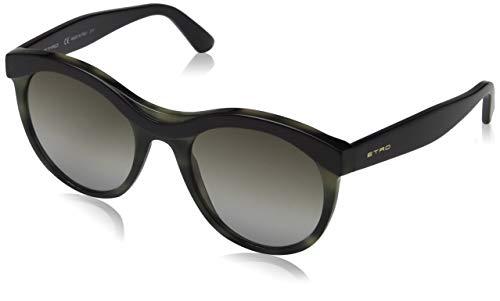 Etro et652s 528 53, occhiali da sole donna, viola (purple/grey havana)