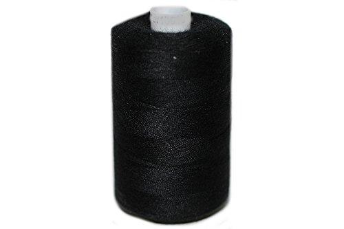 dalipo 27001 - Polyester Nähgarn 1000m, schwarz
