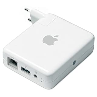 Apple Airport Express Basisstation (Wi-Fi Zertifiziert 802.11n, Ethernet-Anschluss, USB 2.0) (B00169H1XS) | Amazon price tracker / tracking, Amazon price history charts, Amazon price watches, Amazon price drop alerts
