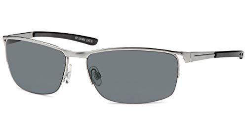 BEZLIT Sonnenbrillen Elegantebrille Sonnenbrille Retro Flieger B473 Silber