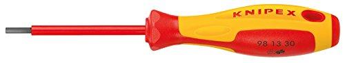 KNIPEX 98 13 40 Schraubendreher für Innensechskantschrauben 182 mm
