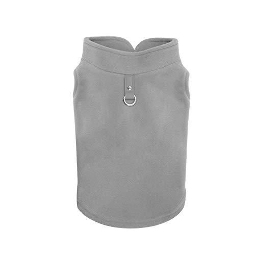 Bluelucon Pet Dog Hoodies, Apparel, Fleece Basic Hoodie Sweater, Cotton Jacket Sweat Shirt Coat for Small Dog & Medium Dog & Cat