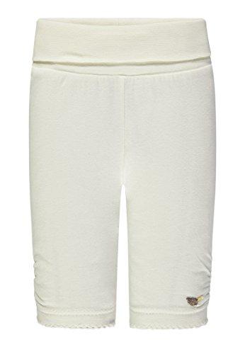 Steiff Baby-Mädchen Leggings, Weiß (Whisper White 1100), 68