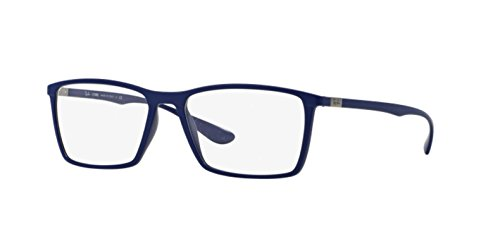 Ray Ban Optical Montures de lunettes RX7049 Pour Homme Matte Black, 53mm 5439: Matte Blue