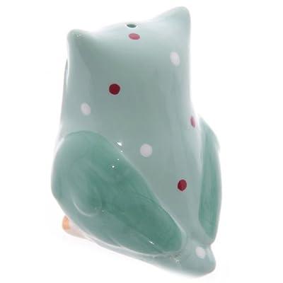 Ceramic Polka Dot Owl Salt & Pepper Set