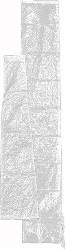 731790 Schirmschutzhülle transparent beschichtetes Polyethylengewebe für Schirme bis Ø 400 cm