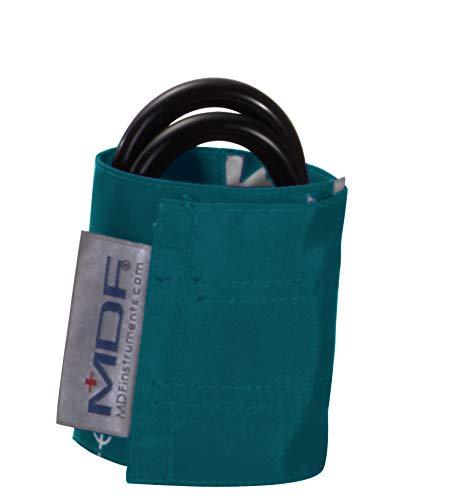 MDF® Latexfreie Blutdruckmanschette- Säuglinge - Zweischlauch - Dunkeltürkis (MDF2020410-13) -