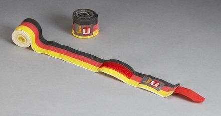 Ju-Sports Boxbandagen Unelastisch, deutsche flagge, 6800021