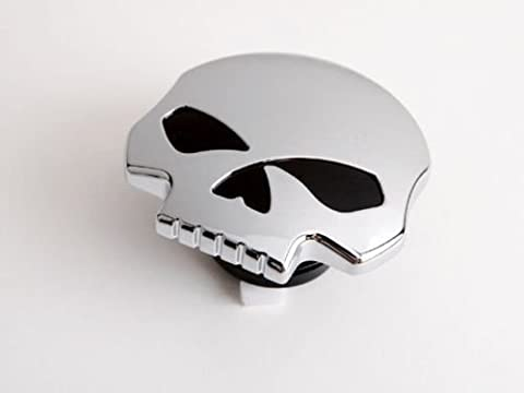 Bouchon de Réservoir Essence Chrome Harley-Davidson SKULL IRON FORTY EIGHT