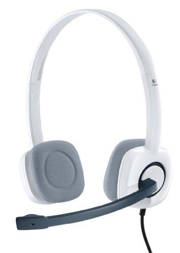 Logitech H150 Stereo Headset Cuffia per PC, Coconut