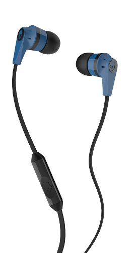 Skullcandy S2IKDY-101 In-Ear Headphone With Mic (Blue and Black)  available at amazon for Rs.999