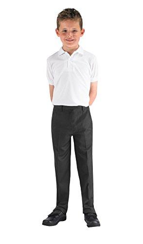 Preisvergleich Produktbild 4Direct Uniforms Jungen Hose schwarz schwarz 5-13 Jahre Gr. 7-8 Jahre (21-23W x 21L), grau