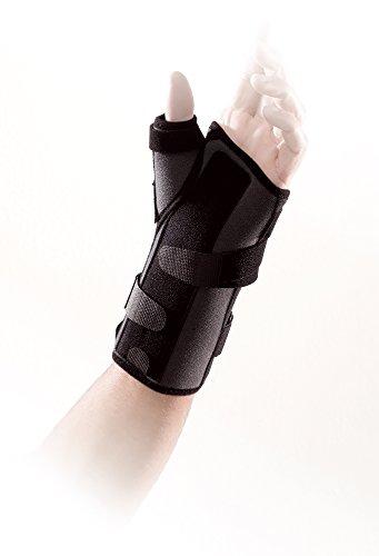 Thuasne Ligaflex Manu Stabilisierungsschiene/Stützbandage für Handgelenk und Daumen, stützt, hilft bei Verletzungen/Fehlstellungen/Entzündungen, 4 Größen erhältlich (Bedingungen Entzündliche)