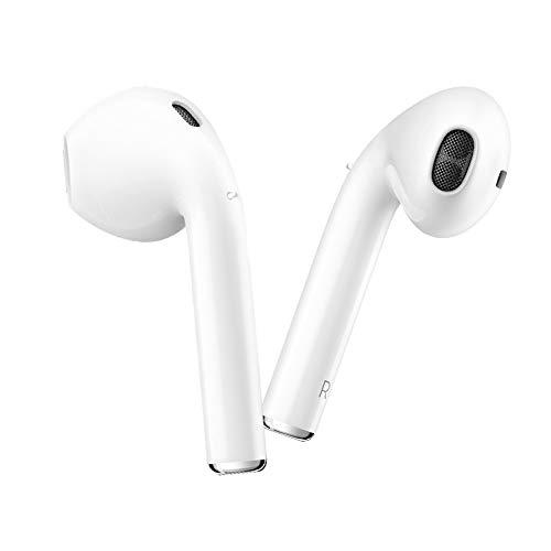 Cimic Bluetooth-KopfhöRer Mini-In-Ear-KopfhöRer 3D-Stereo-Anti-Sweat-SportkopfhöRer Mit Mobiler Stromversorgung DREI-In-Eins