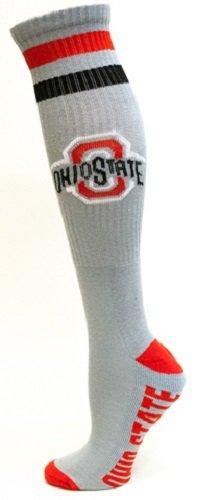 Donegal Bay NCAA Ohio State Buckeyes Tube Socks, Einheitsgröße, Grau (State Buckeyes Ohio Männer Schuhe)