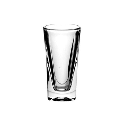 Crystaljulia 2199-Bicchieri da vodka in cristallo al piombo 6pezzi, 50ml