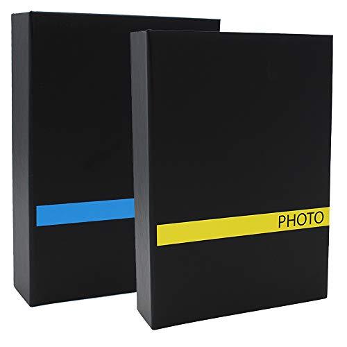 CPC Lot de 2 Albums Photo à Pochettes Sensation BLJ pour 200 Photos 10x15