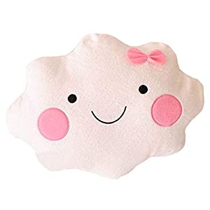 DIVISTAR Kawaii Smiley Face Cloud