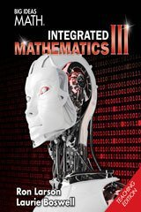 Big Ideas Math 2016, Integrated 3