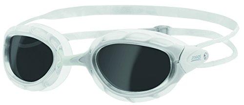 Zoggs Predator–Gafas de natación, todo el año, unisex, color blanco, tamaño talla única