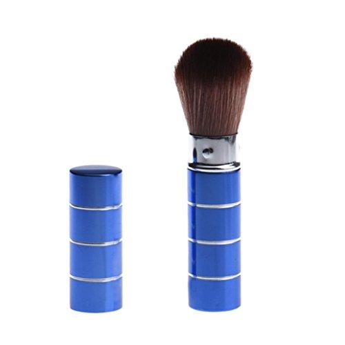 Dégagement!!!,❤️ ♬♬ ❤️ LMMVP Brosse Cosmétique Télescopique en Métal de Maquillage (9.2cm / 3.6\